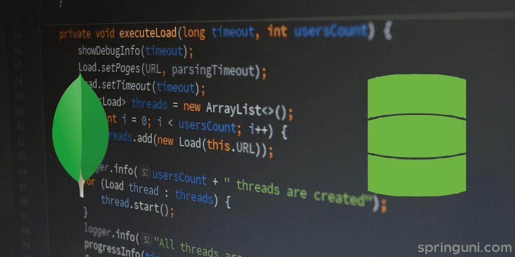 in Spring Data MongoDB
